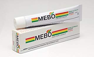 Original Mebo Burn Fast Pain Relief Healing Cream Leaves No Marks 30 Grams by Julphar