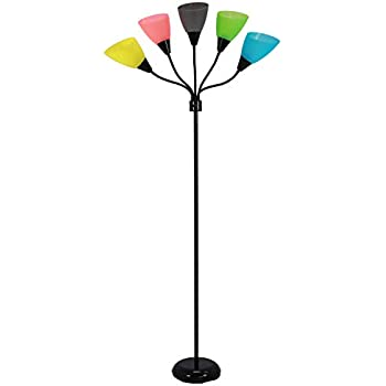 Design Trends 19002 343 Contemporary Adjustable Floor Lamp