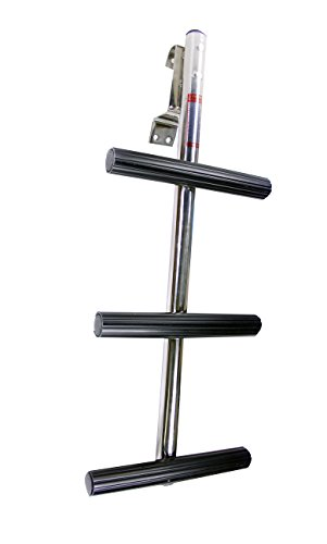 Pactrade Marine Boat Dive Ladder, Stainless Steel, 3 Step ()