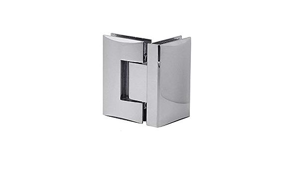 Variant:Modell 5-1 St/ück Cromo Set Bisagra De Cristal Ducha Puerta De Vidrio Cuarto De Ba/ño Muebles Brillante Muro Cepillado Implementos