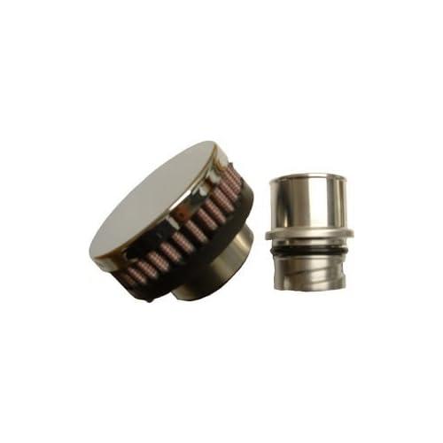 CFM Performance 1-0201-0-FB Billet Baffled Valve Cover Breather Oil Cap LSx LS1 LS2 LS3 LS6 LS7 (Flat Black) supplier