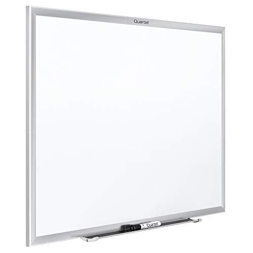 - Quartet Magnetic Whiteboard, 8' x 4' White Board, Dry Erase Board, Classic Series, Silver Aluminum Frame (SM538)