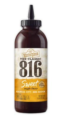 (KC Masterpiece The Classic 816 Sweet Maple BBQ Sauce 20 oz (Pack of 2))