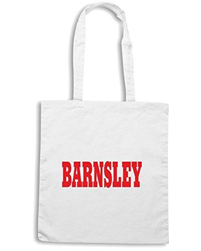 T-Shirtshock - Bolsa para la compra WC0728 BARNSLEY Blanco