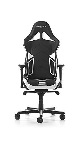 Dxracer Gaming Stuhl Oh Rv131 Nw R Serie Schwarz Weiss Amazon De