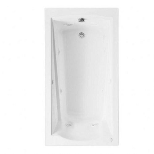 American Standard 2425VC-RHO.222 Evolution 5-Feet by 32-Inch EverClean Whirlpool with Apron, Linen - American Standard Water Panel