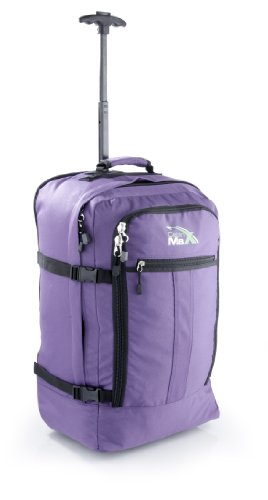 Cabin Max Lyon Flight Approved Bag Wheeled Hand Luggage - Carry on Trolley...