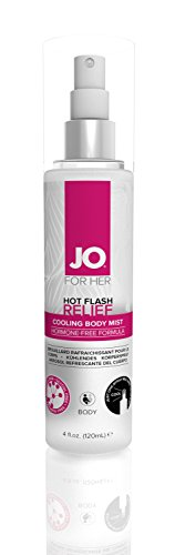 System JO Hot Flash Cooling Body Mist Relief Spray, 4 Fluid Ounce