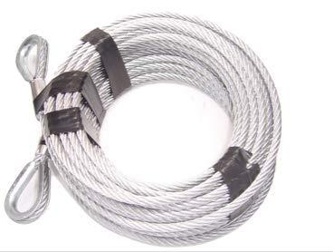 "Advantage 5/16"", 7x19, Galvanized Steel Tow Cable"