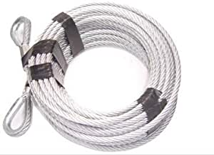 Vehicle Recovery BILLET4X4 Come-Along Winch Replacement Cable 3//8 inch X 100 ft 14,400lb Strength