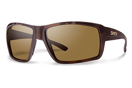 Smith Optics Men's Colson Chroma Pop Polarized Sunglasses (Brown Lens), Matte - Chroma Glasses