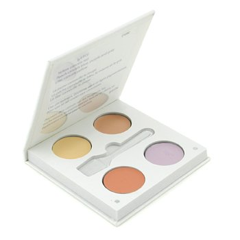 Jane Iredale Corrective Colours Kit ( 4x Concealer 2g + Application Spatula )