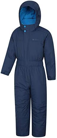 Mountain Warehouse Cloud All in 1 Kids Snowsuit - Waterproof Rainsuit