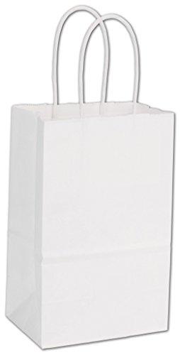ABC Kraft Paper Gift Bag 60#, 5 1/4 x 3 1/2 x 8 1/4