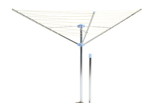 Moerman 88340 Standard 3-Arm Outdoor Umbrella Style Dryer 98 Feet Of (Clothes Dryer Clothesline)