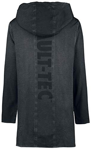 xl tec Black Sweatshirt Over Throw 76 Hoodie Fallout Vault ZO8UHxq