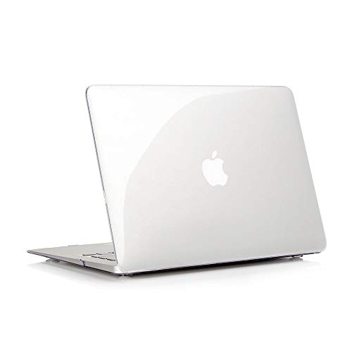 RUBAN Plastic Hard Case Cover for MacBook Air 11 Inch (Models: A1370 and A1465), Crystal Clear