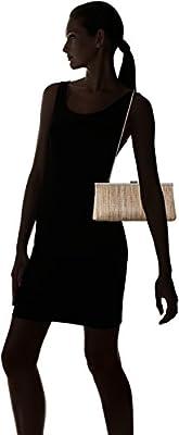 Calvin Klein Novelty Woven Straw Clutch