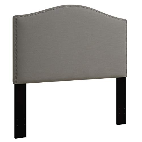- Pulaski Camel Back Upholstered Headboard