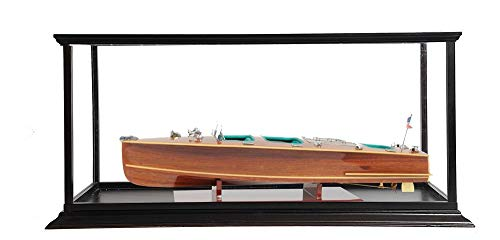 Old Modern Handicrafts Chris Craft Triple Cockpit with Display Case Home Décor One Size Multi