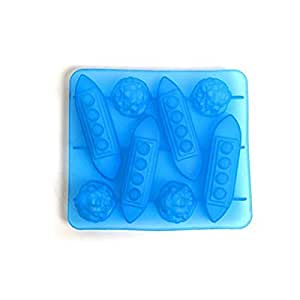 Titanic Iceberg Shaped Silicone Chocolate Candy Making Mold Tray and Ice Cube Trays