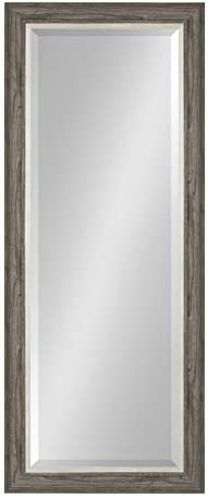 Kate and Laurel Woodway Decorative Frame Full Length Wall Mirror