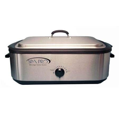 - Nesco Spa-Pro massage stone heater, 18 quart.