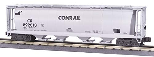 Conrail Hopper - MTH 1:48 O Scale Conrail 4-Bay Cylindrical Hopper CR #892023 Car Train #20-97431