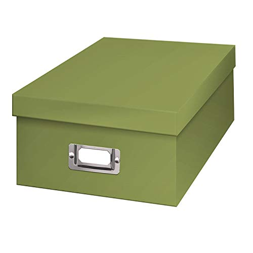 TSVP Photo Storage Box sage Green Holds Over 1,100 Photos up to 4x6 Photos 11.25