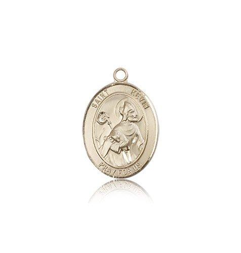 14 ktゴールド聖Kevin Medal B008JL3R2U