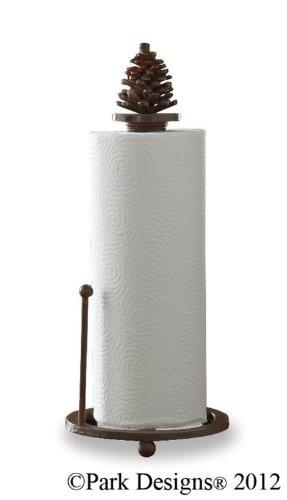 (Pinecone Paper Towel Holder)