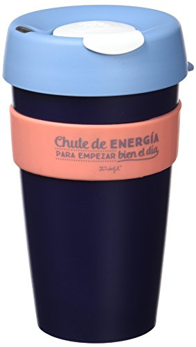 Mr Wonderful Taza reutilizable KeepCup Chute de energia para empezar bien el dia, grande