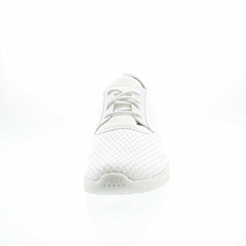 ESPRIT 037ek1w030/E100 - Zapatos de cordones de Lona para mujer blanco