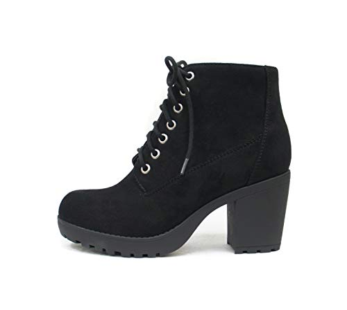 soda black ankle boots - 7
