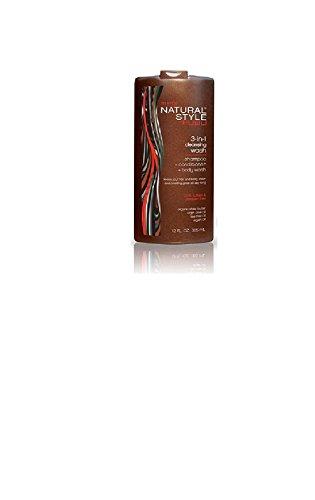 Fubu Men's Natural Style 3-in-1 Cleasing Wash(shampoo+conditioner+body wash) 12oz by Fubu