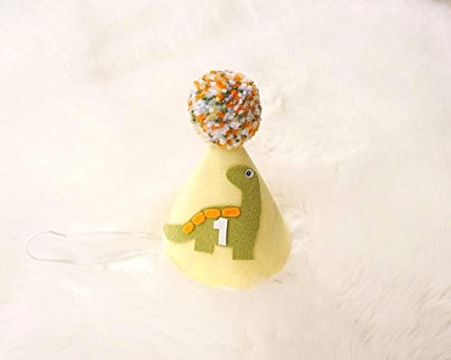 Dinosaur Hat - Dinosaur Birthday - Birthday Hat - First Birthday - Boy Girl