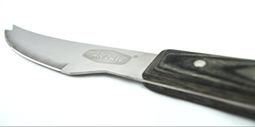 Man Law BBQ Products MAN-H1A-K H1A Series Open Stock Knife, One Size, Stainless Steel and Wood