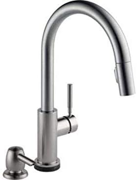 delta trask 19933t-spsd-dst touch kitchen faucet