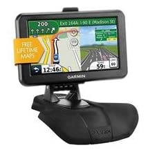 Garmin NUVI50LMBUNDLE 5-Inch GPS Navigator with Lifetime Map Updates and Friction Dash Mount (Black/Black)