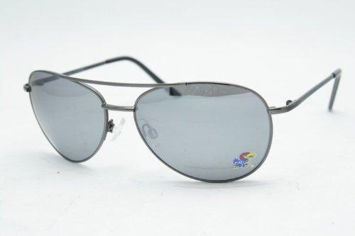 NCAA Kansas Jayhawks Hercules Sunglasses (Aviator Sunglasses) (Ncaa Aviator Sunglasses)