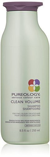 Pureology | Clean Volume Weightless Shampoo | For Fine, Color Treated Hair | Sulfate-Free | Silicone-Free | Vegan | 8.5 oz.