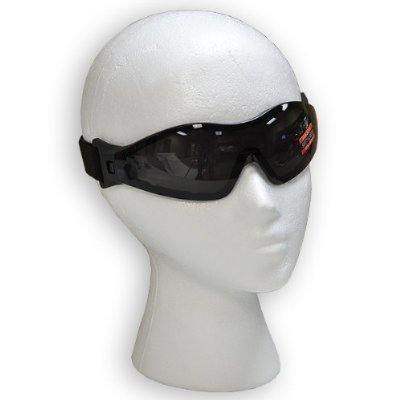 Z33 Airsoft goggle low profile low fog DARK Lens Global Vision by Global Vision