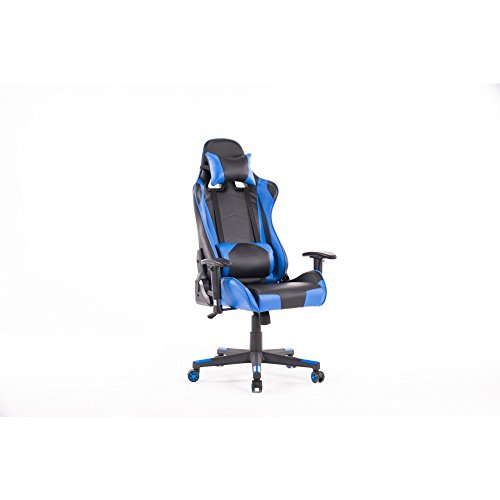 31ObqN 8L3L - HOMEFUN HIgh-back Gmaing chair, Racing Style with Headrest and Lumbar support