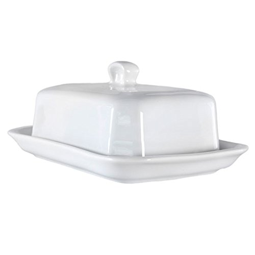 (Pillivuyt Large Butter Tray with Cover, European Style)