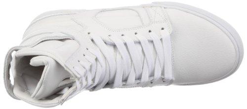 Supra Skytop 2 S01031 - Zapatillas de cuero para hombre Blanco