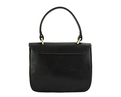 Morbida 8057 Nero Market Leather Pelle In A Florence Virginia Vera Mano Borsa fzxqUUwZB