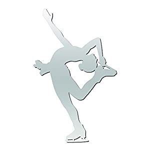 A&R Sports Figure Skater Magnet & Decal