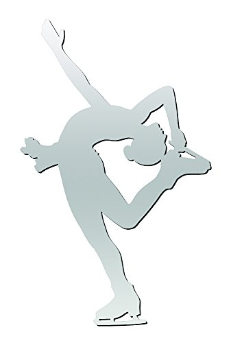 A&R Sports Figure Skater Magnet & Decal, ()