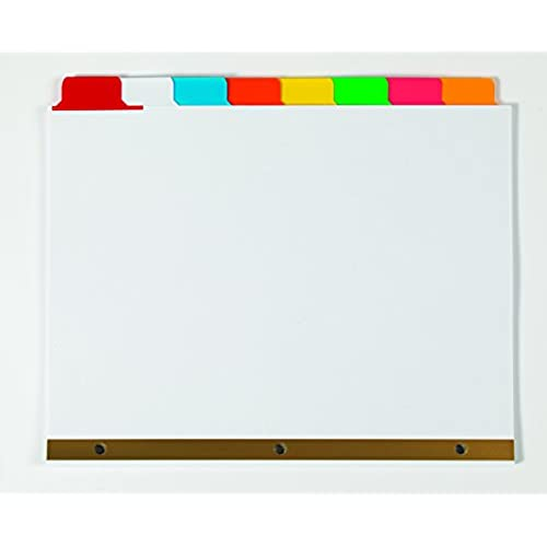 Letter Size 76-100 26-Tab 11397 25 per Set Avery Avery-Style Legal Side Tab Dividers White