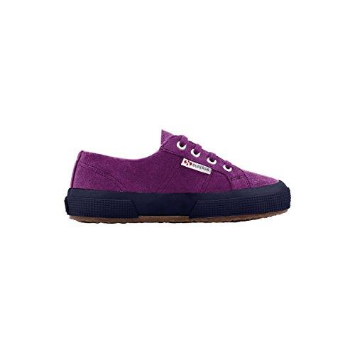Superga 2750- SUEBINJ S004Z10 - Zapatillas de ante para niños Grape